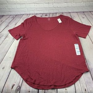 NWT Old Navy Relaxed Linen T-Shirt Size L